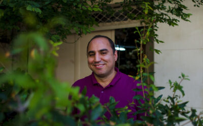 Hamid: An expert carpet maker from Iran in Athens