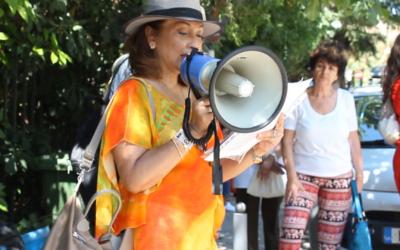 Διαμαρτυρία Φιλιππινέζων στην Αθήνα