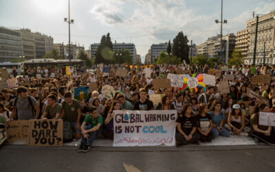 Διαδήλωση μαθητών για την κλιματική αλλαγή στην Αθήνα