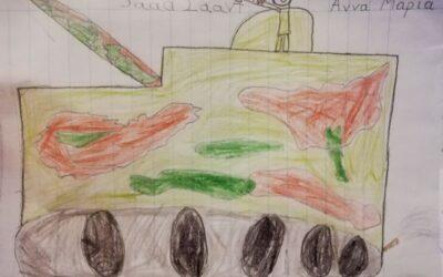 Το πριν, το τώρα, και το μετά της ζωγραφιάς του μικρού Σάαντ από τη Συρία