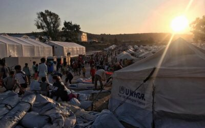 """Labeled """"immigrants"""", two-thirds of Moria's population actually have a refugee profile"""