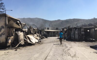 """""""The time-bomb exploded"""" at Greece's largest refugee camp"""