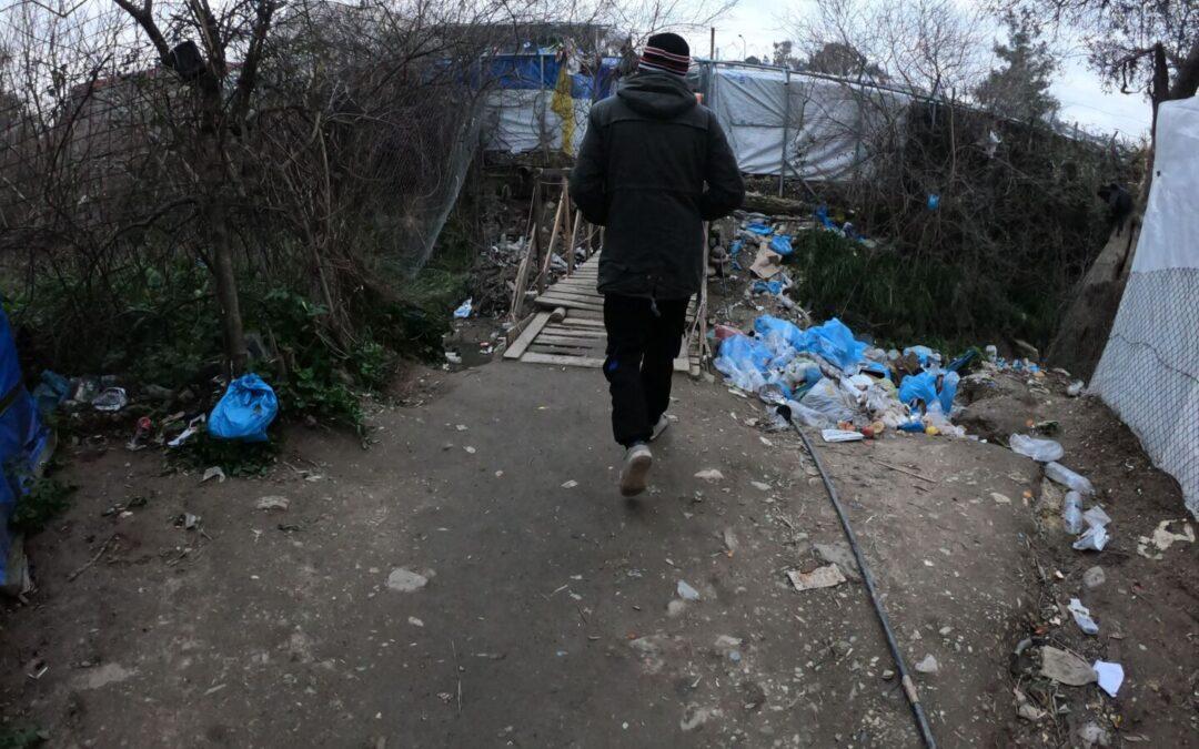 Europe's largest refugee camp under coronavirus risk