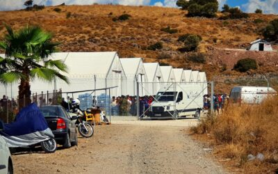 One month after the Moria fire, press coverage on refugees remains restricted
