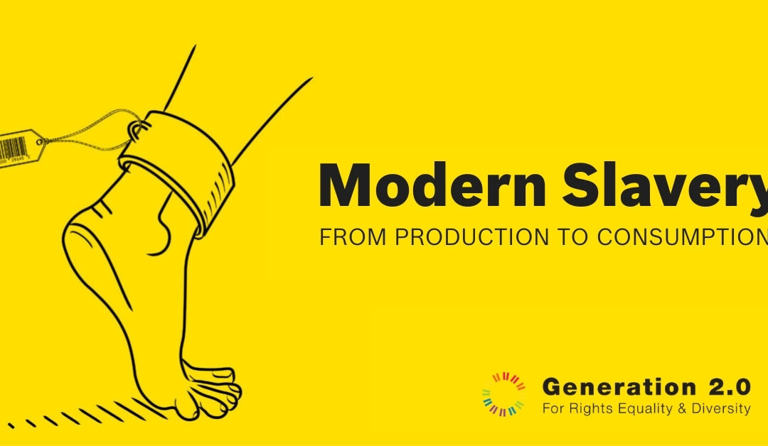 """Report """"Modern Slavery: from production to consumption"""""""